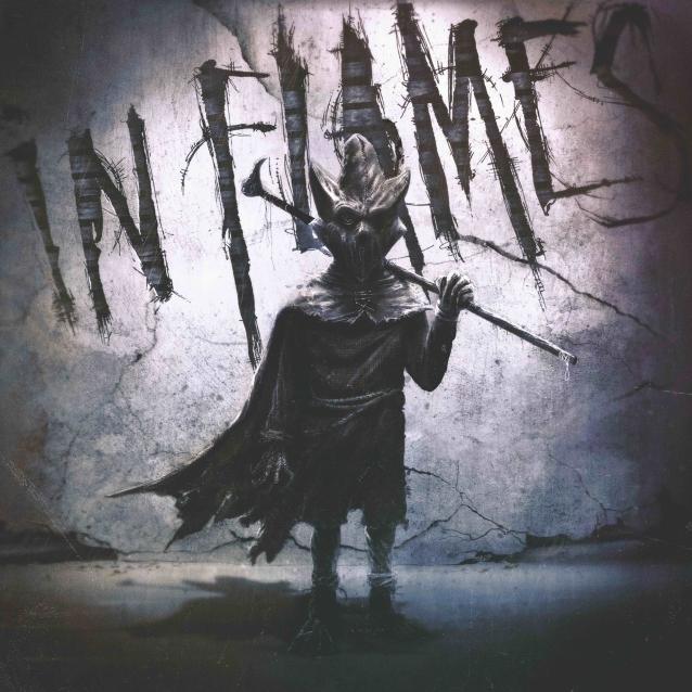 Yeni In Flames albümü I, The Mask için hazırlanan kapak | Musiki Cemiyeti